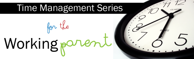 Time Management Series Banner